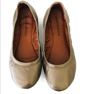Lucky Brand woman's flats size 7.5. Like new.